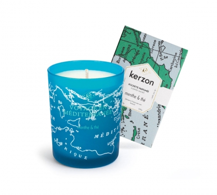 'MENTHE & THE' SCENTED CANDLE