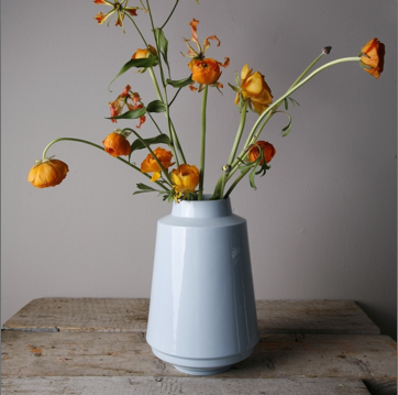 'HIGH EDGED' VASE