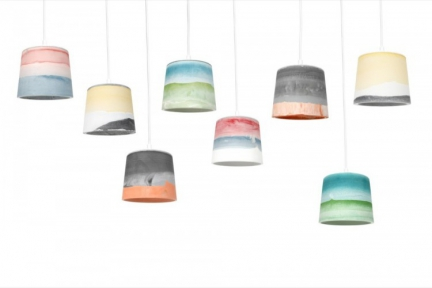 'RAINBOW SHADES' LAMP