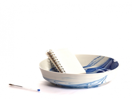 'PIGMENTS & PORCELAIN' BOWL