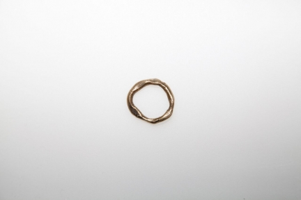 POURED BRONZE RING