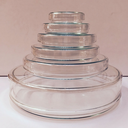 GLAS DISH with LID