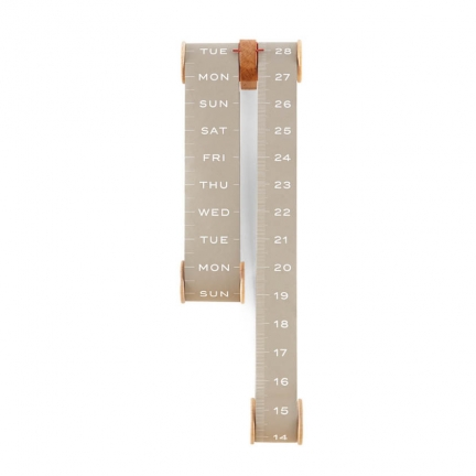 'ROLL' VERTICAL SCROLL CALENDER
