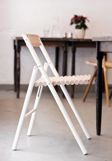 'STEEL' FOLDING CHAIR