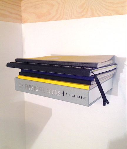 'SELFSHELF' FLOATING BOOK SHELF