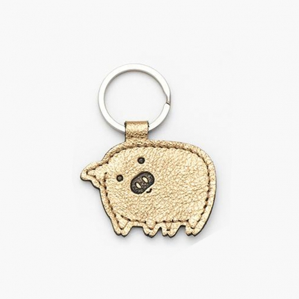'LITTLE PIGGY' KEYRING