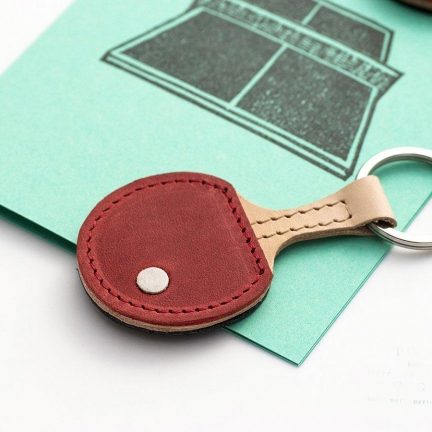 'PING PONG' KEYRING & GREETING CARD