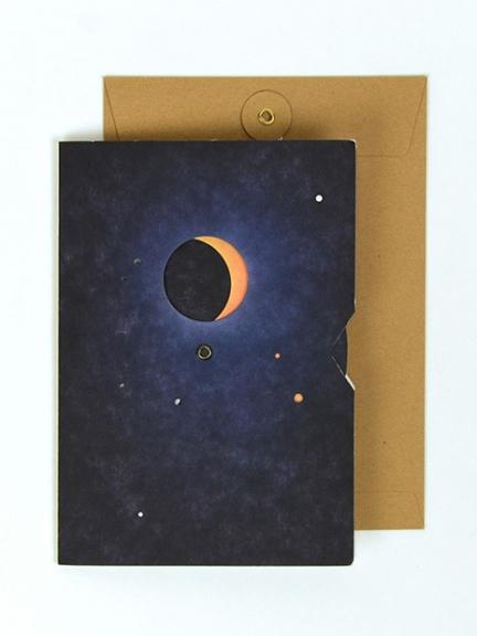 'MOON CARD' A5