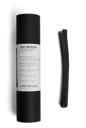 'KISHU BINCHOTAN' WHITE CHARCOAL TO PURIFY YOUR WATER
