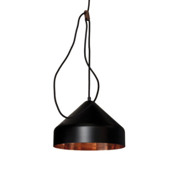 LLOOP LAMP COPPER-BLACK