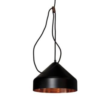 LLOOP LAMP COPPER-BLACK
