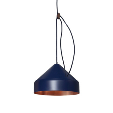 LLOOP LAMP COPPER-INDIGO