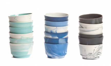 'PIGMENTS & PORCELAIN' COFFEE CUP