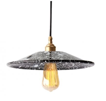 'DRIP' ENAMEL LAMP
