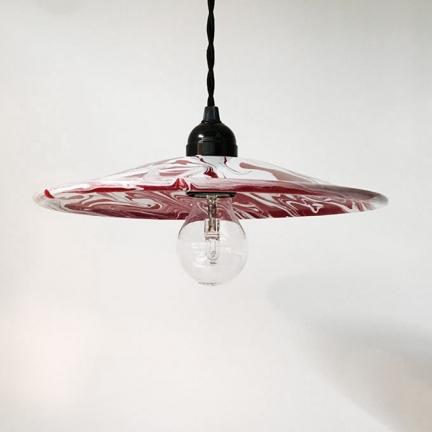 'MARBLE' ENAMEL LAMP