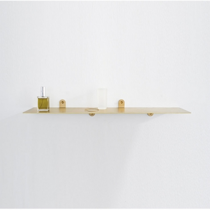 SHELF N°1 BRASS