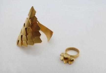 'ARTICHOKE' BRACELET & RING