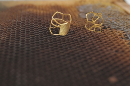 'HONEYCOMB' RINGS