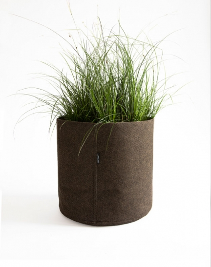 ROUND FELT FABRIC PLANT POTS